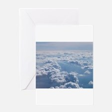 Cute Clouds Greeting Card