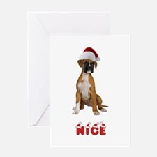 Nice Boxer Greeting Card