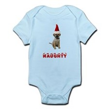 Naughty Puggle Infant Bodysuit