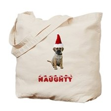 Naughty Puggle Tote Bag