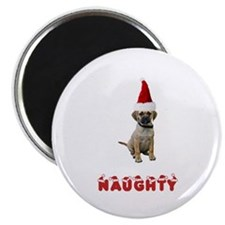 Naughty Puggle Magnet