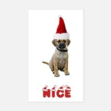Nice Puggle Rectangle Decal