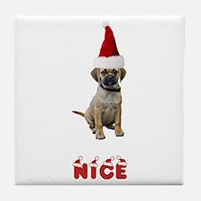 Nice Puggle Tile Coaster