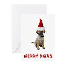 Puggle Christmas Greeting Cards (Pk of 10)
