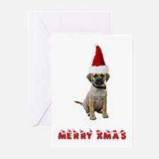Puggle Christmas Greeting Cards (Pk of 10)
