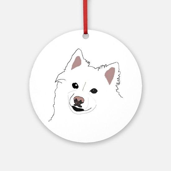 American Eskimo Products Ornament (Round)
