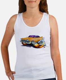 1958-59 Fury Orange Car Women's Tank Top