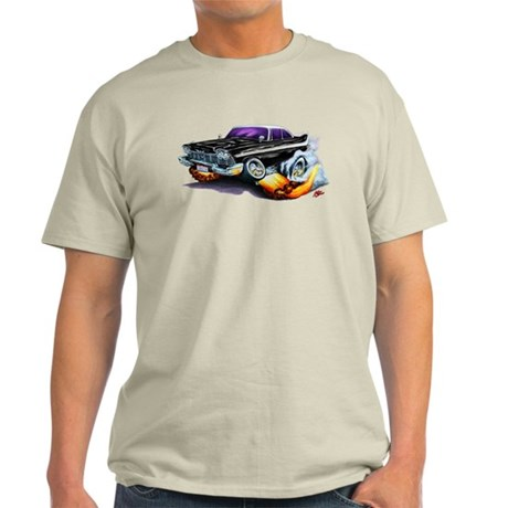 1958-59 Fury Black Car Light T-Shirt