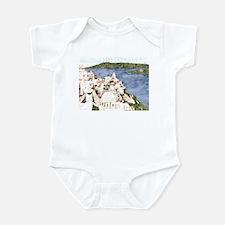 Santorini, Greek Island I Infant Bodysuit