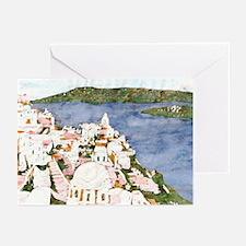 Santorini, Greek Island I Greeting Cards (Pk of 10