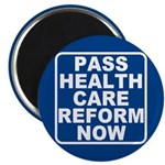 Pass Health Care Reform Now Magnet