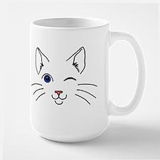 Winking Cat Mug