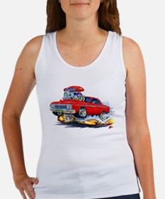 1964 Fury Red Car Women's Tank Top