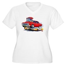 1964 Fury Red Car T-Shirt