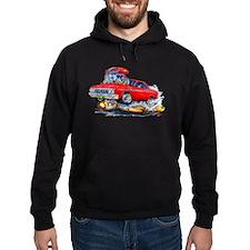 1964 Fury Red Car Hoodie