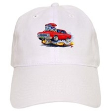1964 Fury Red Car Baseball Cap