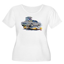 1964 Fury Silver/Grey Car T-Shirt