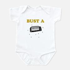 Bust a Caps Lock Infant Bodysuit