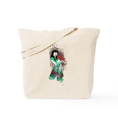 High priestess of Cthulhu Tote Bag