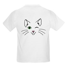 Green Eyed Cheeky Cat T-Shirt