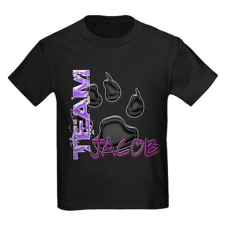 Team Jacob New Moon Movie Kids Dark T-Shirt