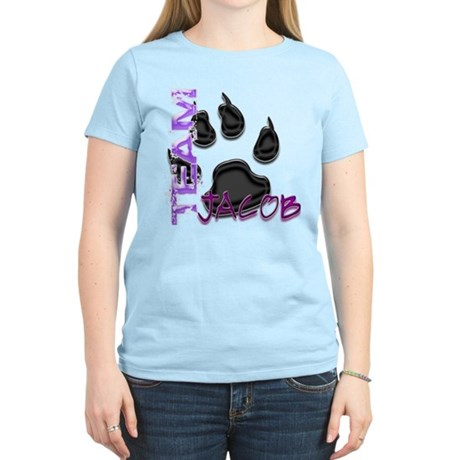 Team Jacob New Moon Movie Women's Light T-Shirt