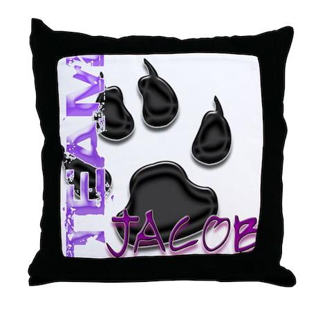 Team Jacob New Moon Movie Throw Pillow