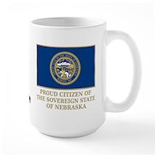 Nebraska Proud Citizen Mug