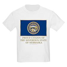 Nebraska Proud Citizen T-Shirt