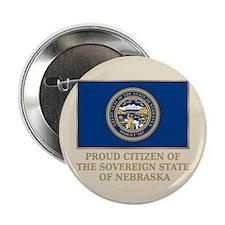 """Nebraska Proud Citizen 2.25"""" Button"""