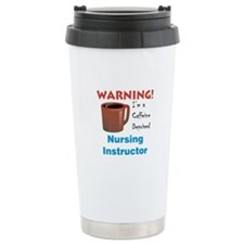 Caffeine Deprived Nursing Ins Travel Mug