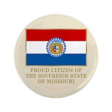 """Missouri Proud Citizen 3.5"""" Button"""