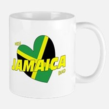 Meh love Jamaica bad Mug