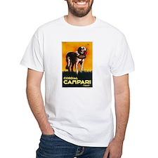 Cordial Campari Liquor Vintage Ad Shirt