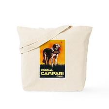 Cordial Campari Liquor Vintage Ad Tote Bag