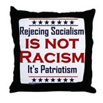 Rejecting Socialism Throw Pillow