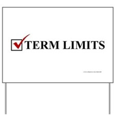 VOTE, Term Limits - Yard Sign