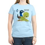 Peacock in Blue Women's Light T-Shirt