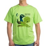 Peacock in Blue Green T-Shirt
