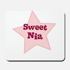Sweet Nia Mousepad