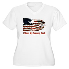 I Want my Country Back T-Shirt