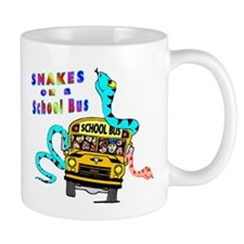 Snakes on a School Bus Mug