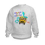 Snakes on a School Bus Kids Sweatshirt