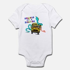 Snakes on a School Bus Infant Bodysuit