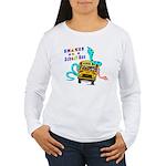 Snakes on a School Bus Women's Long Sleeve T-Shirt