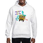 Snakes on a School Bus Hooded Sweatshirt