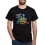 Snakes on a School Bus Dark T-Shirt