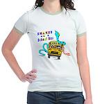 Snakes on a School Bus Jr. Ringer T-Shirt