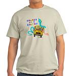 Snakes on a School Bus Light T-Shirt