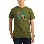 Snakes on a School Bus Organic Men's T-Shirt (dark